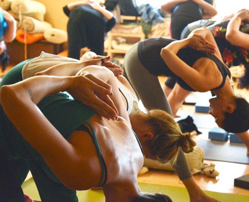 yoga at Harrogate Gym