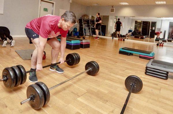 xpress pump class at Beckwith Gym