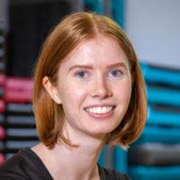 Gym instructor, Emma