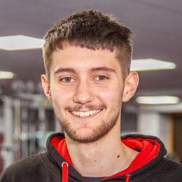 Gym instructor, James